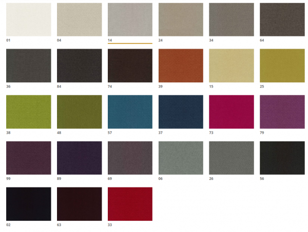 Barvna karta Mercis